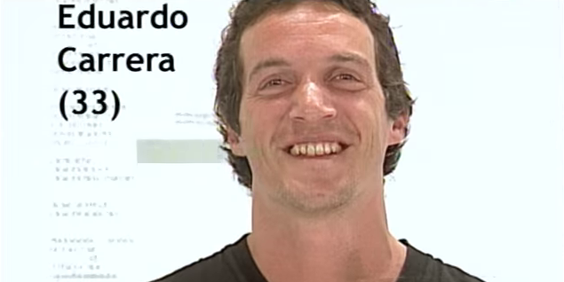 Eduardo Carrera Gran Hermano 3 Argentina