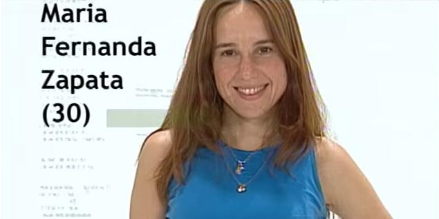 Fernanda Zapata Gran Hermano 3 Argentina