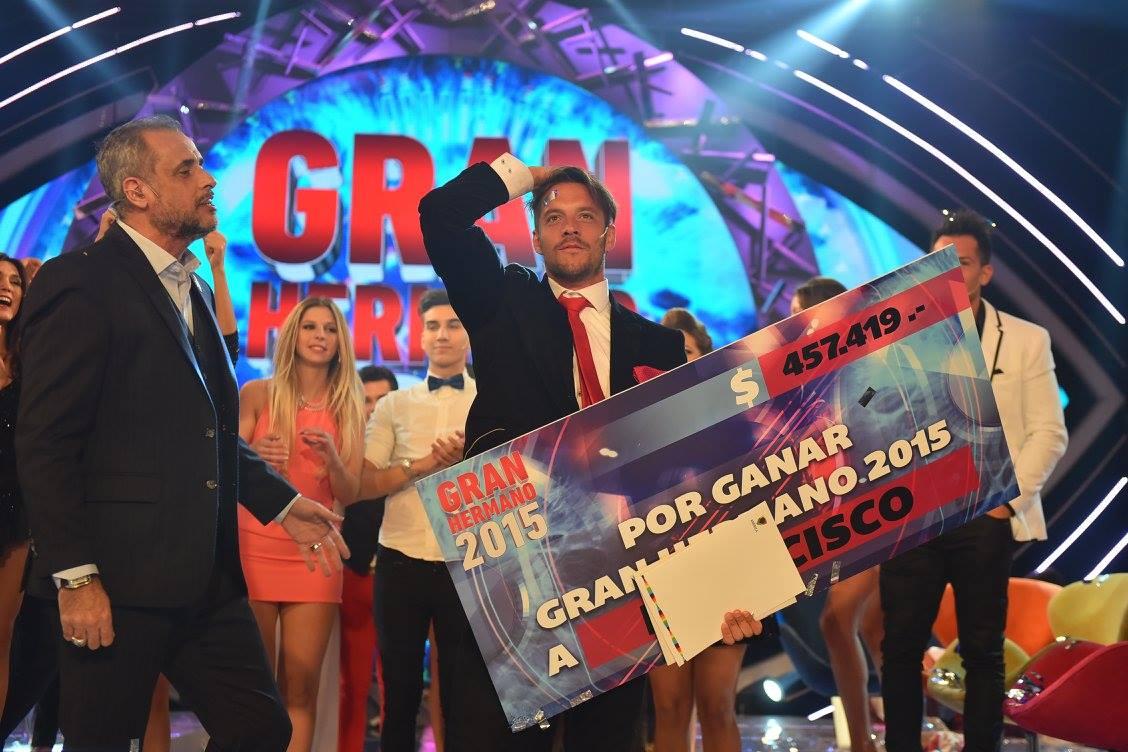 Francisco Delgado Ganador de Gran Hermano 2015