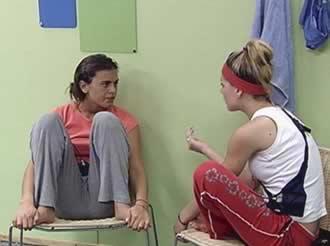 Silvina Luna y Magaly Rodríguez Gran Hermano 2 Argentina