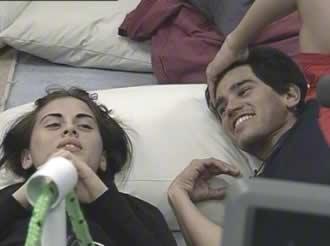 Silvina Luna y Luis Biondi Gran Hermano 2 Argentina