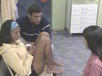 Gustavo Conti, Alejandra Martínez y Ximena Capristo Gran Hermano 2 Argentina