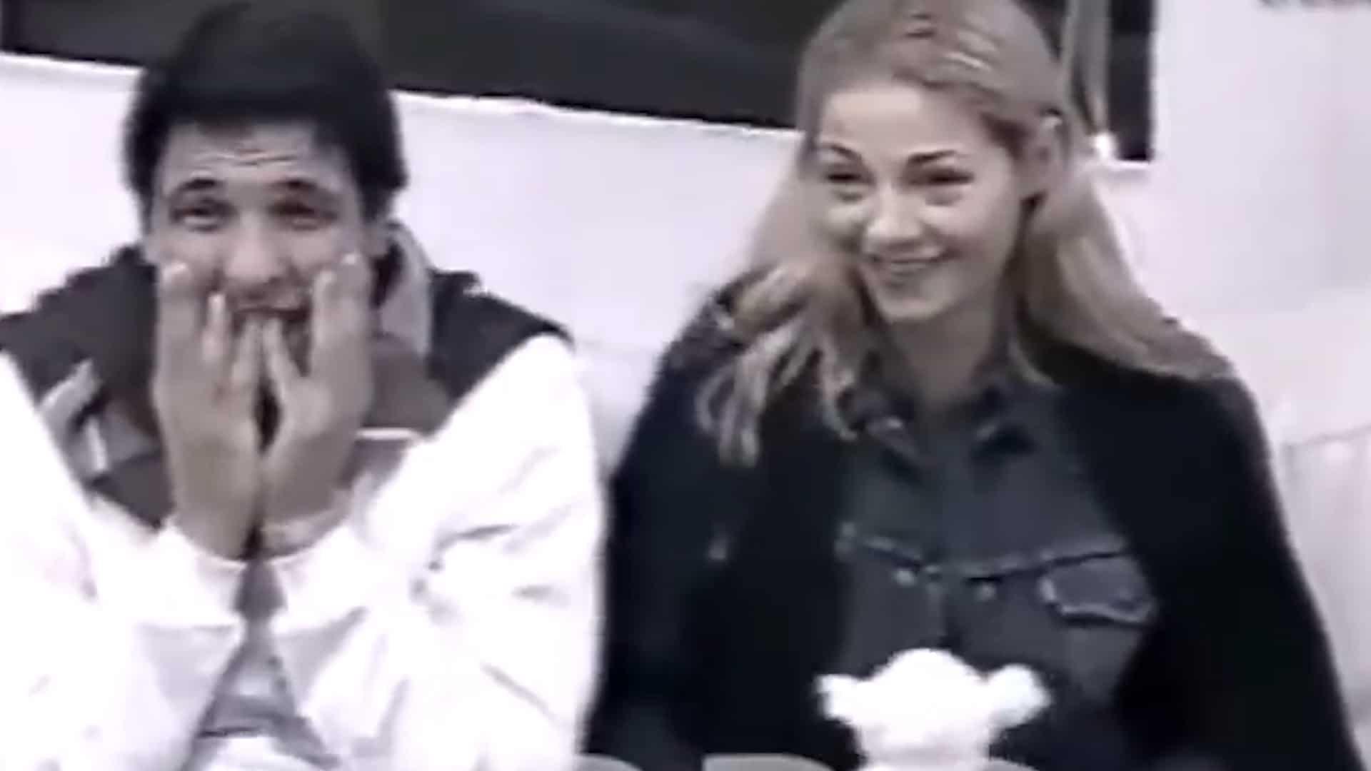 Marcelo Corazza y Tamara Paganini en la final de Gran Hermano