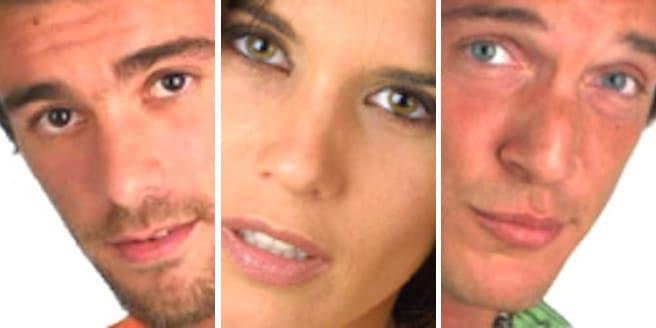 Pablo, Natalia y Eduardo Nominados Gran Hermano 3
