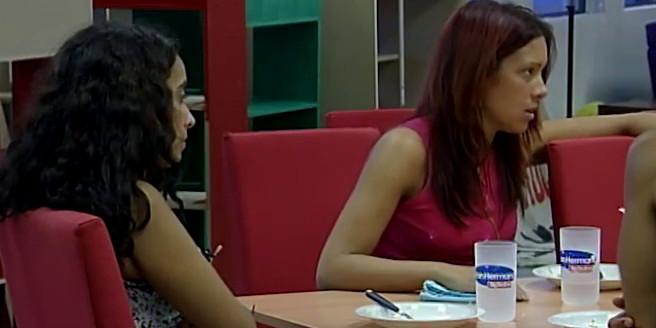 Analía Barrios y Carla Bazán Gran Hermano 3 Argentina