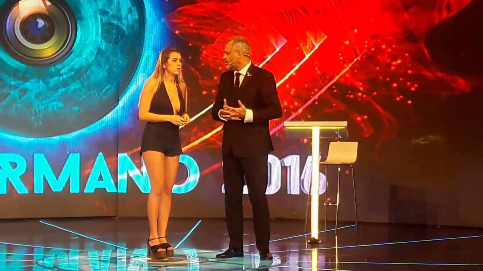 Belén D'Alessandro eliminada de Gran Hermano 2016