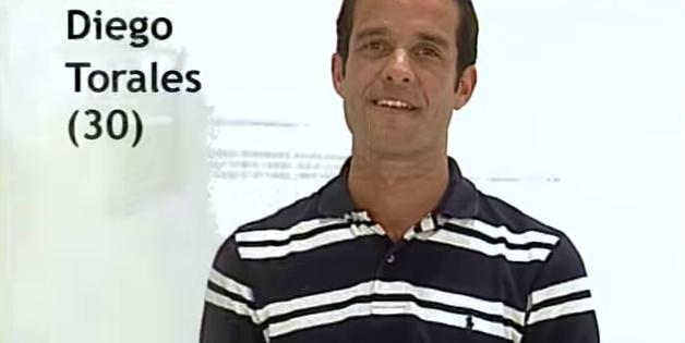 Diego Torales Gran Hermano 3 Argentina