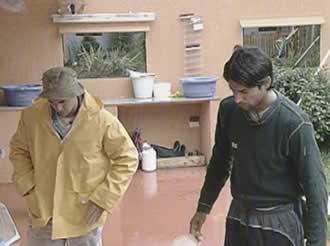 Roberto Parra y Maximiliano Degenaro Gran Hermano 2 Argentina