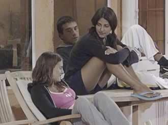 Silvina Luna, Gustavo Conti y Alejandra Martínez Gran Hermano 2 Argentina