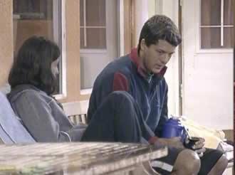 Alejandra Martínez y Javier Aureano Gran Hermano 2 Argentina