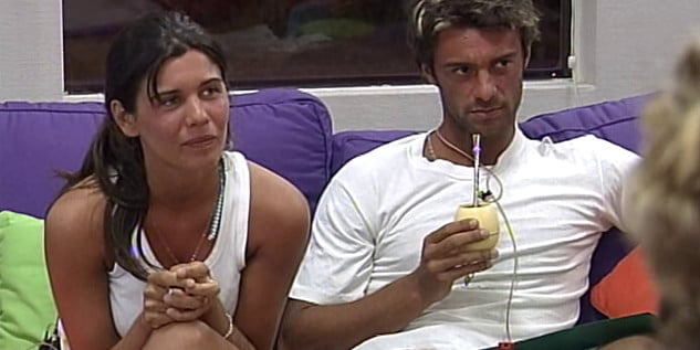 Natalia Quintiliano y Pablo Martínez Gran Hermano 3 Argentina