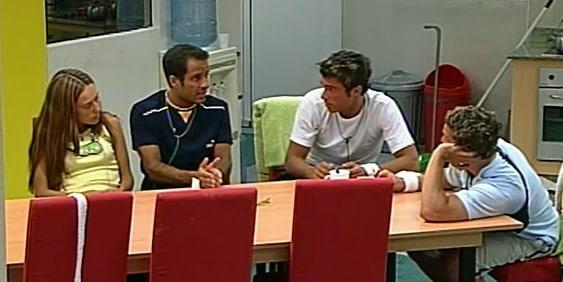 Pablo, Eduardo, Diego y Fernanda Gran Hermano 3