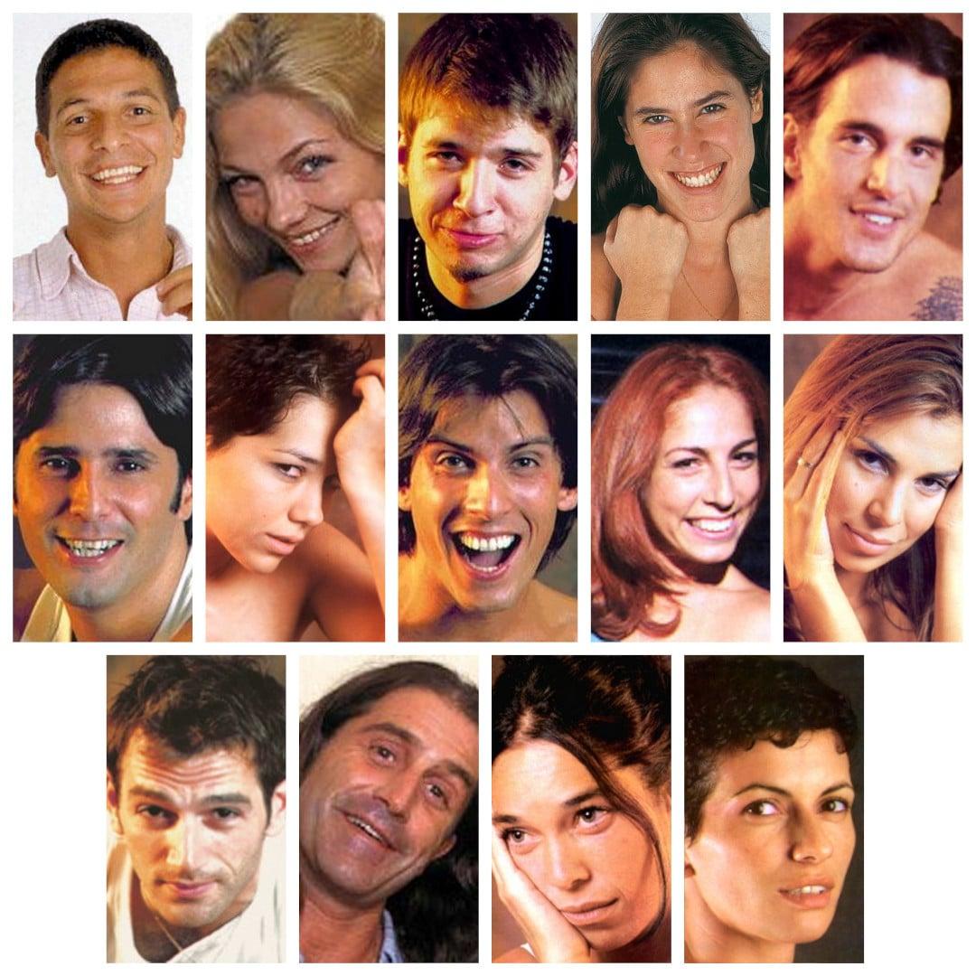 gran hermano 1 argentina participantes fotos