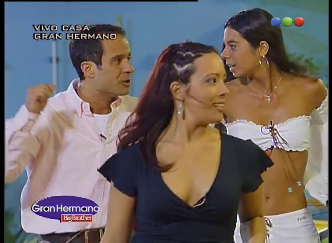 Romina Orthusteguy, Diego Torales y Analía Barrios Gran Hermano 3