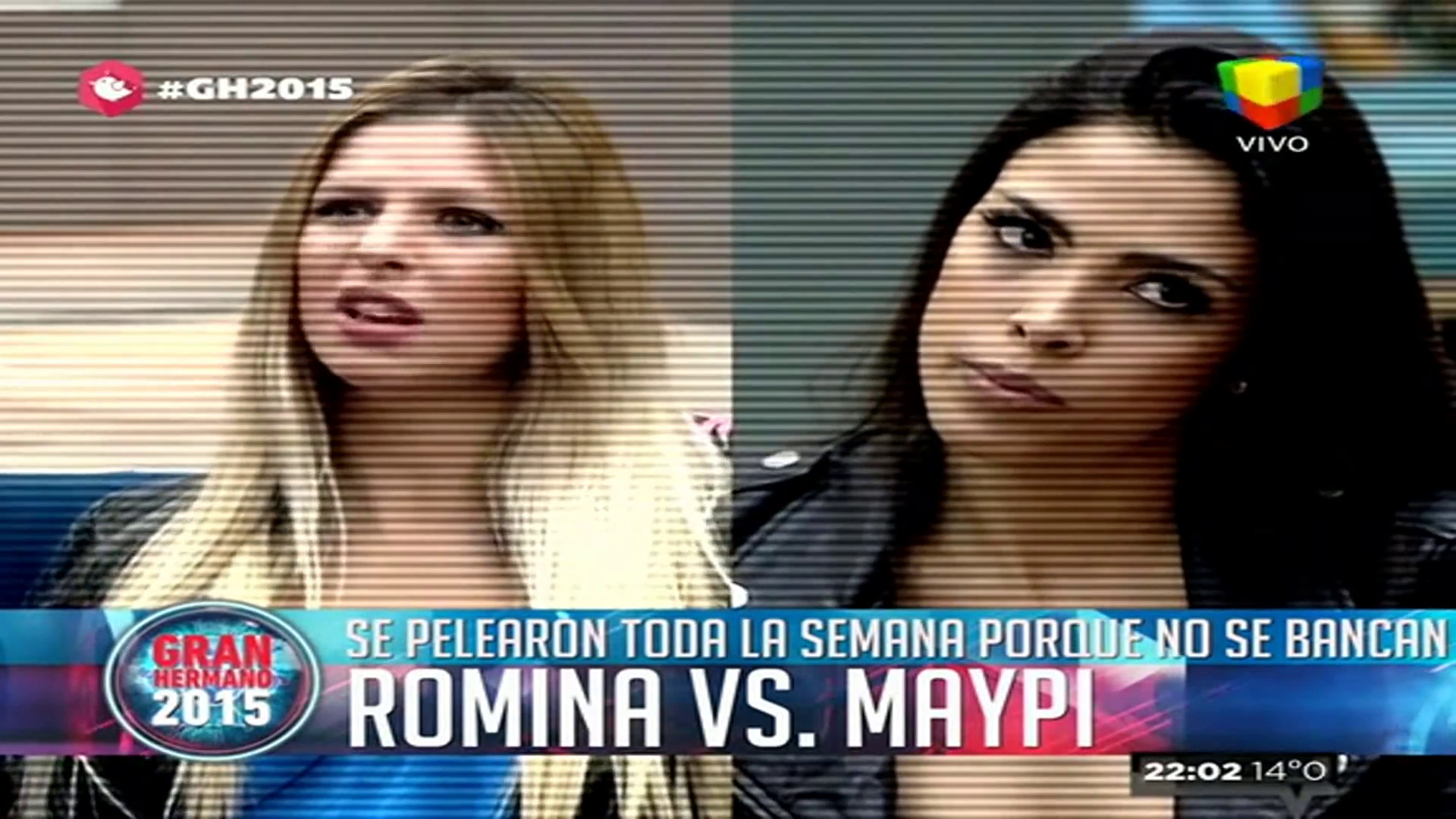 Romina Malaspina y Maypi Delgado Gran Hermano 2015
