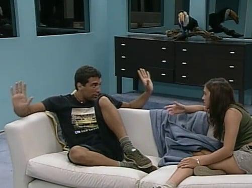Silvina Luna y Gustavo Conti Gran Hermano 2 Argentina