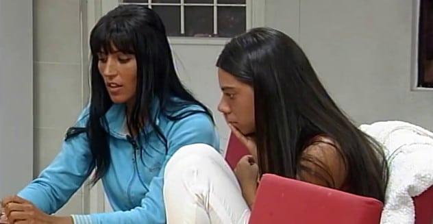 Viviana Colmenero y Romina Orthusteguy Gran Hermano 3