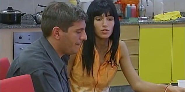 Viviana Colmenero y Matías Bagnato Gran Hermano 3 Argentina