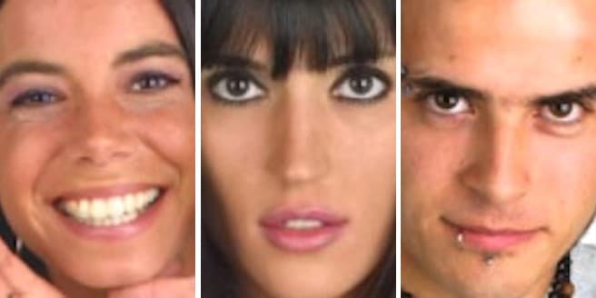 Mauricio, Viviana y Romina Finalistas Gran Hermano 3